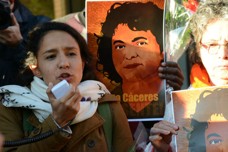 Berta Kim >> Losing Berta Caceres The Breaking Point In The Struggle Against