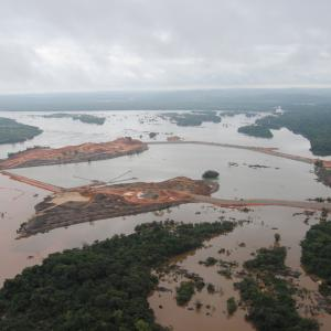 Aerial photo of Belo Monte