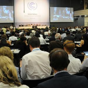 Reunión intersesional en Bonn, Alemania.