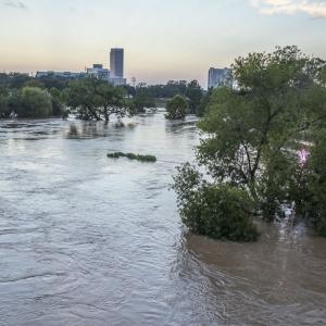 Inundación en Houston causada por el huracán Harvey