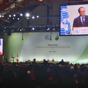 Inicio de las negociaciones de la COP21