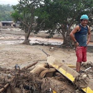 Flooding and landslides in the city of Mocoa, Colombia
