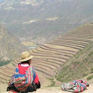 Mujer indígena en Perú. Crédito: SXC.