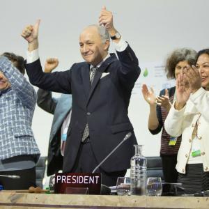 Adoption of the Paris Agreement