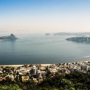 The coast of Río de Janeiro in Brazil