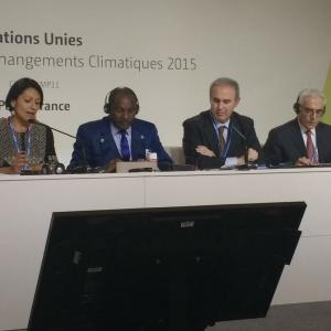 Side event at COP21