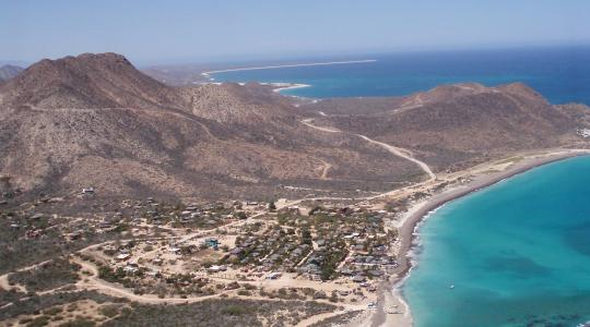 Overview of Cabo Pulmo. | Credit: Siddartha Velázquez