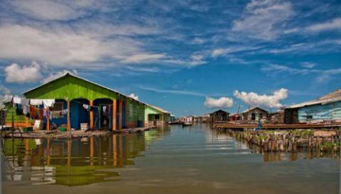 Resultado de imagen para imagenes de la Ciénaga Grande de Santa Marta