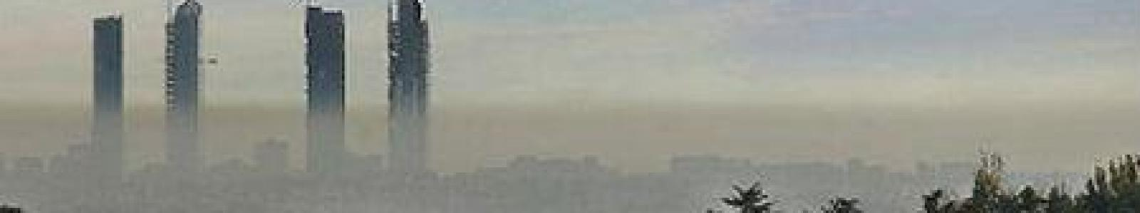 Pollution in Madrid, Spain