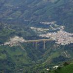 Vista general del municipio de Cajamarca.