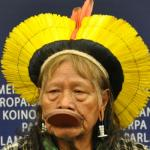 Chief Raoni denounced the threats Belo Monte posted to human rights