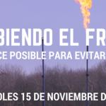 """Seminario virtual """"Prohibiendo el fracking: un avance posible para evitar sus daños"""""""