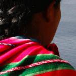 Mujer indígena boliviana.