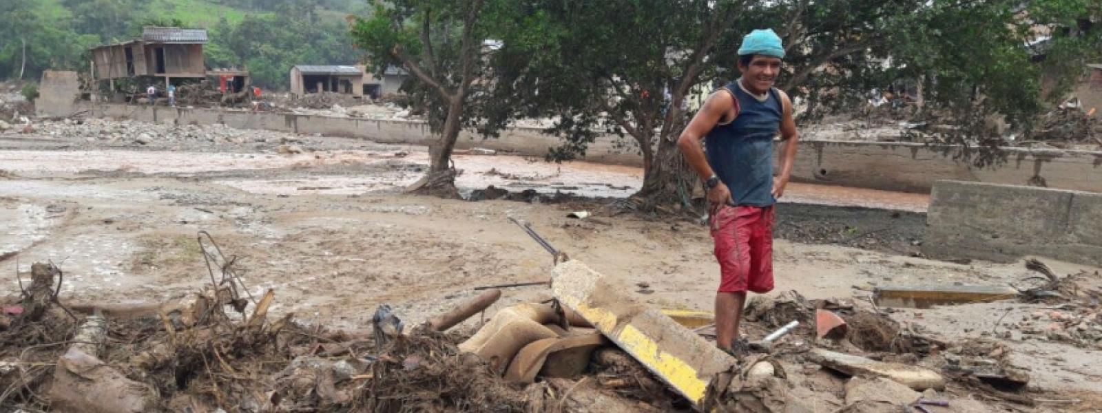 En Mocoa, Colombia, un megadeslizamiento arrastró masas de agua, tierra y lodo, sepultando barrios completos.
