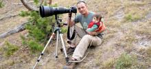 The love of nature, a lesson from father to daughter