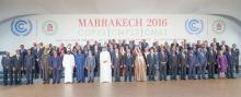 Jefes de Estado y gobierno que participaron de la COP22 en Marrakech