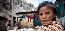 Girl in La Oroya
