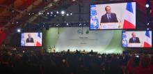 The opening ceremonies of the high level negotiations at COP21