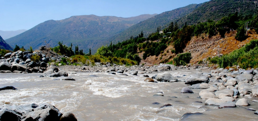 Río Maipo, Chile