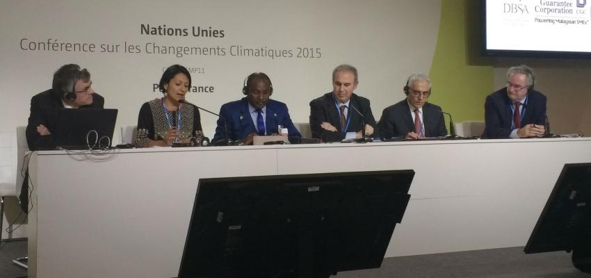 Evento paralelo a la COP21