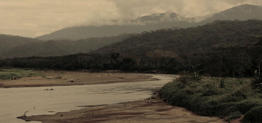 The Tárcoles River in Costa Rica