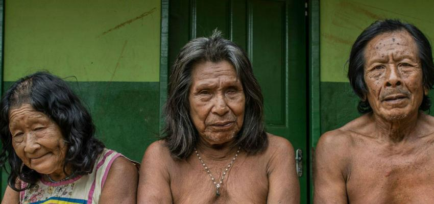 Indigenous people affected by the Belo Monte Dam in Brazil's Amazon