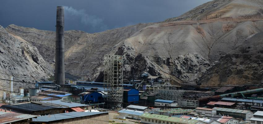 Metallurgical Complex of La Oroya in Peru