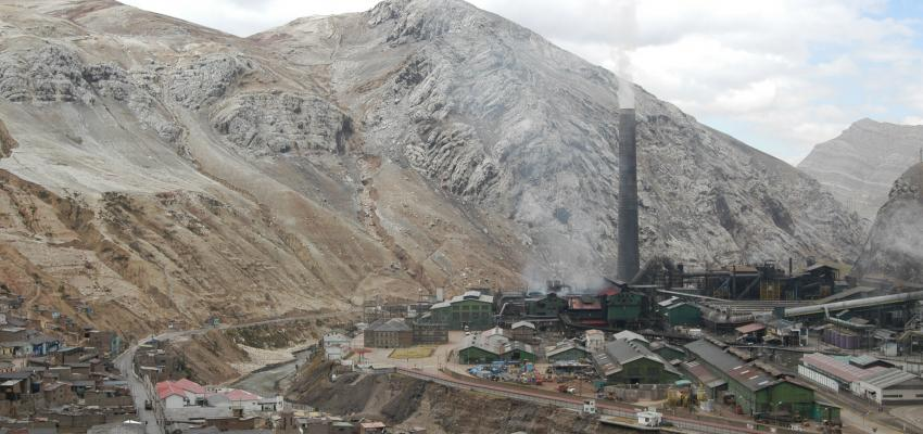 Metallurgical Complex of La Oroya in Peru
