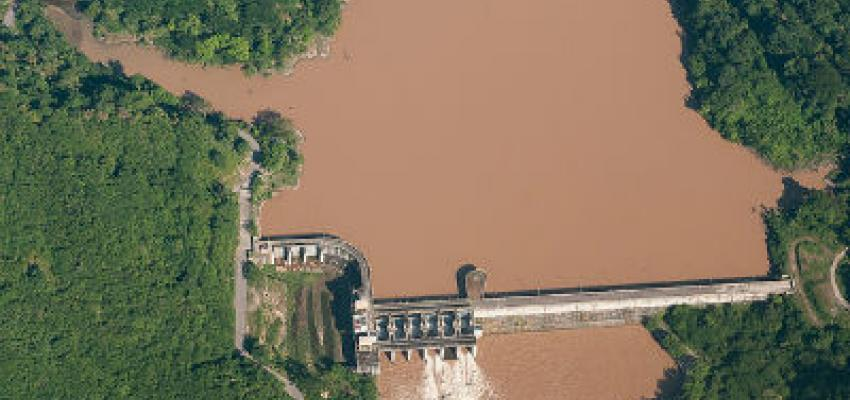 Represa Aguamilpa, México