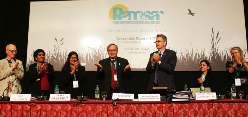 Report from the Ramsar Conference