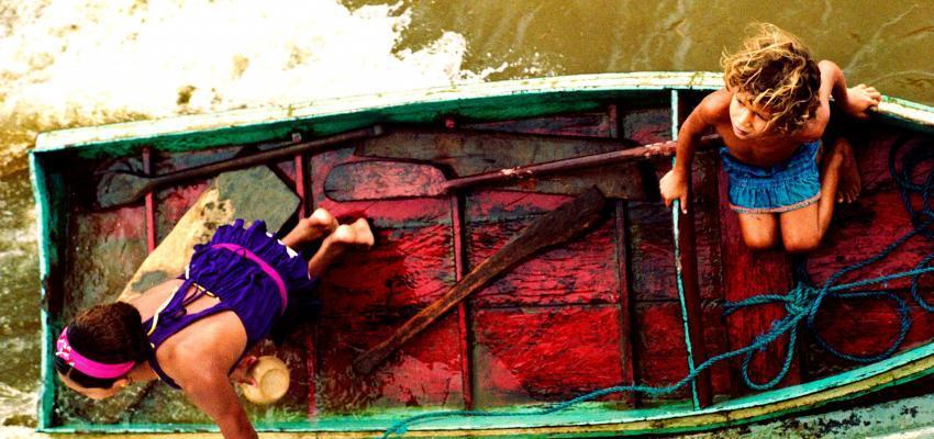 On the Xingu River, tributary of the Amazon, Brazil.