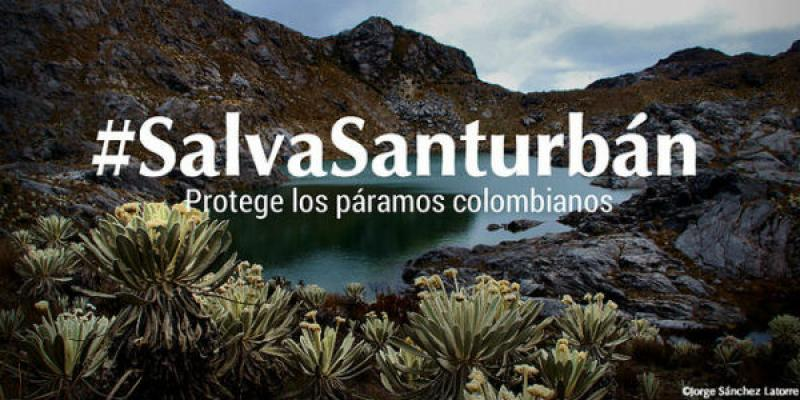 One of the memes designed to promote the protection of the Santurbán páramo on social networks. Photo Credit: Jorge Sánchez Latorre.